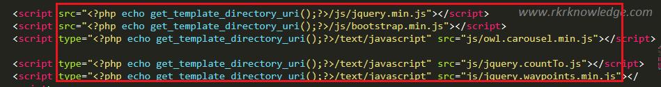 set js path