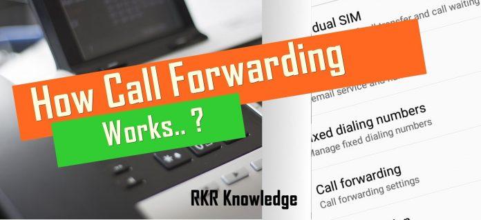 How Call forwarding works