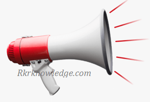 What is loud speakers.
