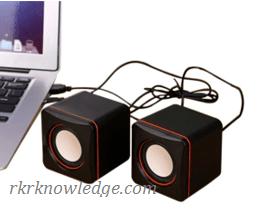 USB-speakers.